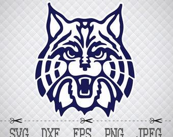 Arizona Wildcats Logo SVG DXF Png Digital Cut Vector Files for Silhouette Studio Cricut Design Space for Cameo & Cricut Explore Vinyl Decal