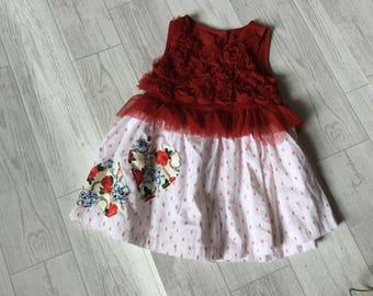Baby girl rock chick party dress age 3-6 months