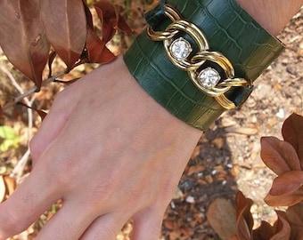 Genuine leather bracelet Leather Bracelet. Leather Strap Leather Strap