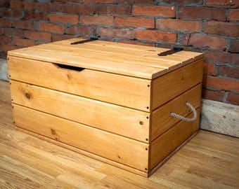 Storage Chest, Trunk, Coffee table, Handmade New