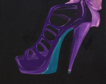 Shoes - Purple Stiletto
