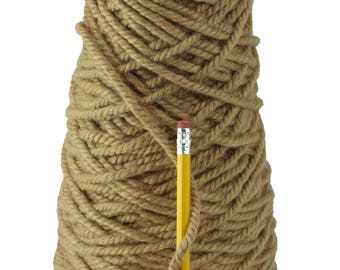 Doeskin 3 ply 100% Wool Yarn from New Zealand  (10 pounds)