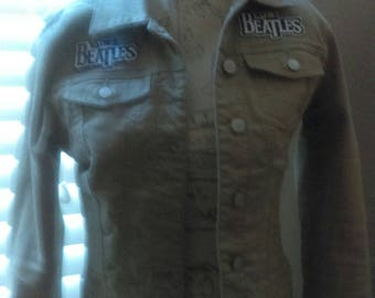 The Beatles jacket sz small