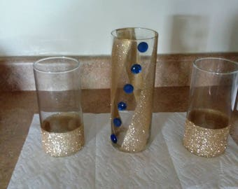 Handmade candle holders/vases