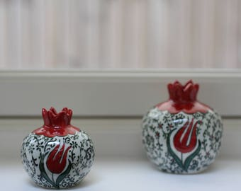Special Unique Ottoman Tulip Design Ceramic Vase
