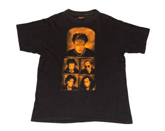 """Vintage 1992 The Cure """"Wish"""" T-Shirt (Large)"""