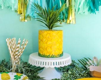 Fruit Cake- Fake cake, prop cake, party decor