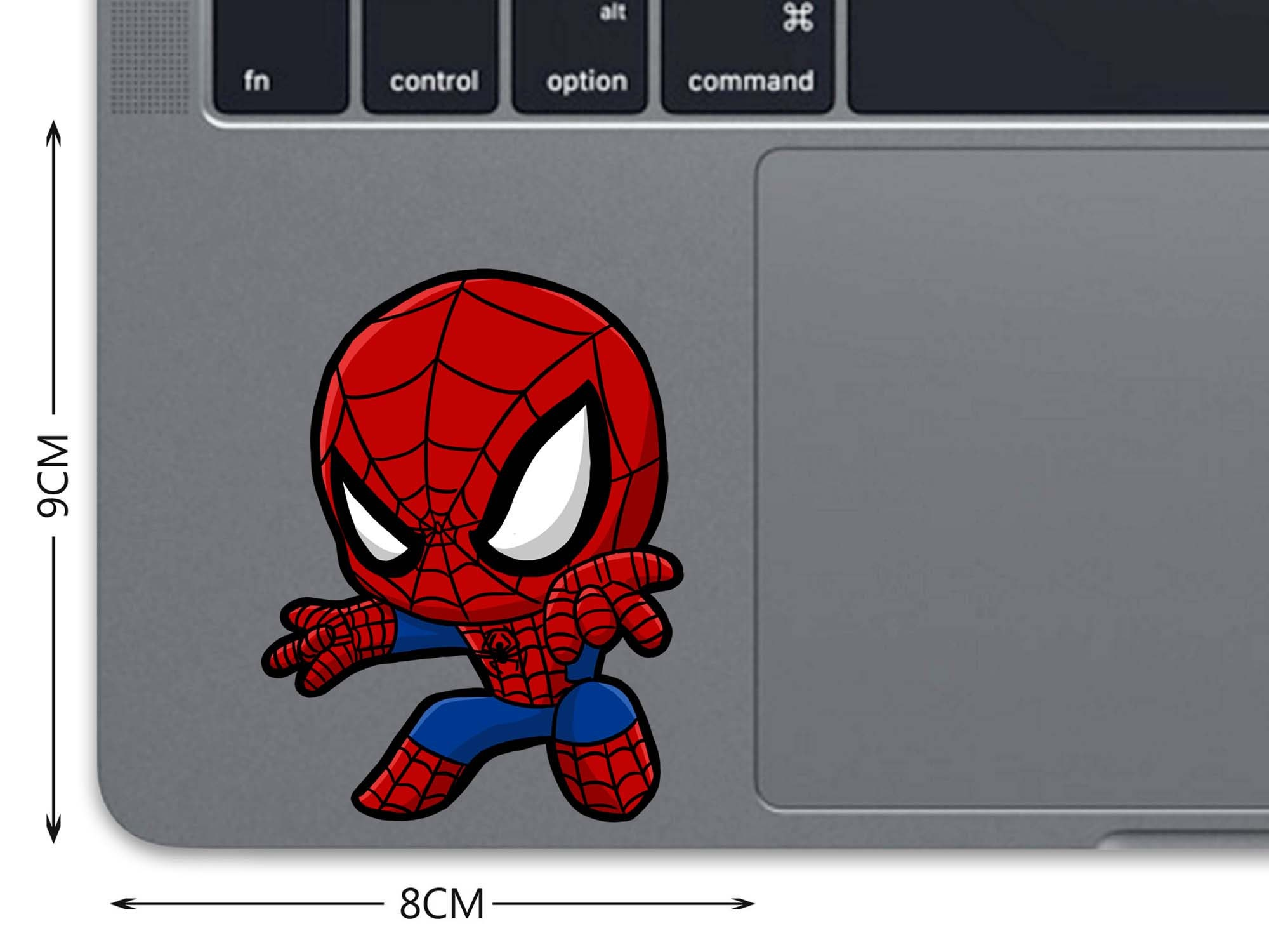 Spiderman Macbook Decal Superhero Macbook Sticker Spider Man
