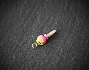 Lollipop Candy Charm, Lollipop Pendant, Sweets Charm