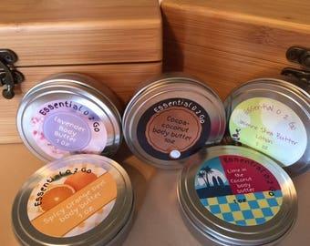 Aromatherapy, body butter, health and beauty, moisturizing