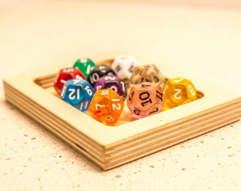 Board Game Dice Tray