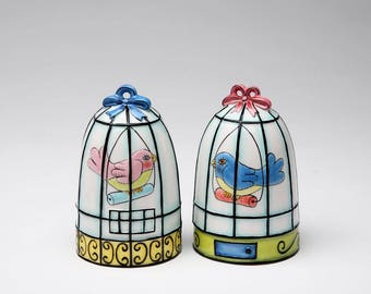 Birdcage Salt and Pepper Shaker Set
