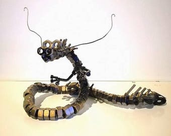Steampunk Dragon Sculpture