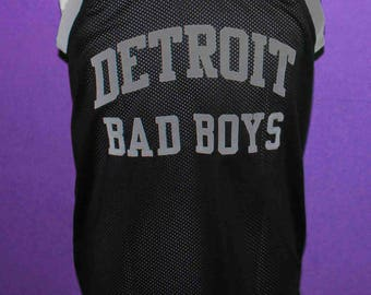 ADRIAN DANTLEY #45 DETROIT BAd BOYs Jersey Sewn New Any Size xs - 5xl