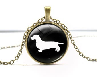"The Bo--Dachshund Love ""Wearable Weiner"" Necklace"