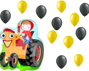 Farmer Boy Balloon for BBQ, Birthdays, Picnic and any Occasion