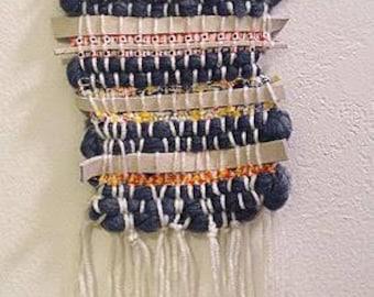 Mixed Fibers Wall Hanging