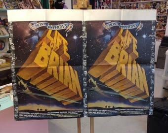 Monty Python's Life Of Brian (1979). Original British Quad Poster