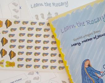 Rosary for Children - Prayer & Sticker Book