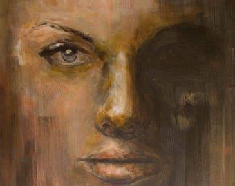 Portrait - Acrylic on canvas