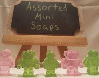 Homemade Mini Soaps