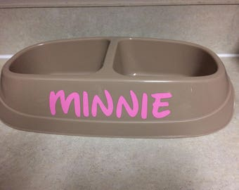 Personalized Per Name Bowl, cat, dog, food bowl