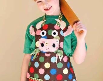 Critterlicious Cow Barnyard Kids Chef Set