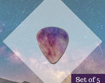 GALAXY Translucent Guitar Pick
