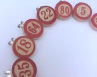 Wooden Bingo Markers