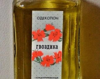 "Eau de cologne ""Carnation"" USSR Original.Old"