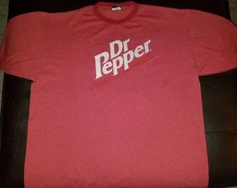 2 Vintage Dr Pepper Shirts XL (set of 2)