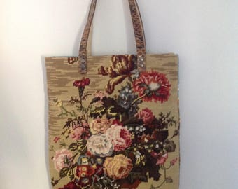 Bag in canvas and cui