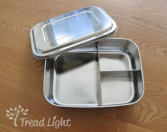 Eco Friendly Stainless Steel Lunch Box - Large