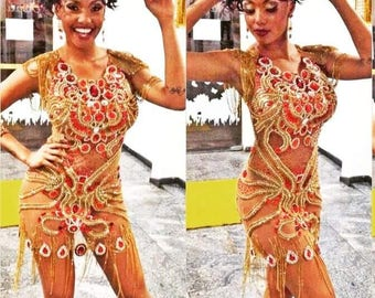 Luxury Brazilian Carnival Dress
