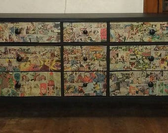 Custom Comic Book Furniture