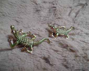 Cute Alligator Scatter Pins Set