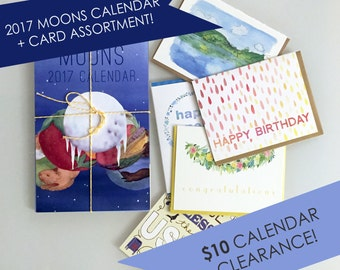 2017 Calendar Clearance! March blowout price with free card assortment!
