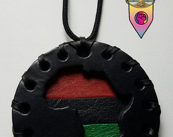 Classic Old School Pan African Medallion- Small