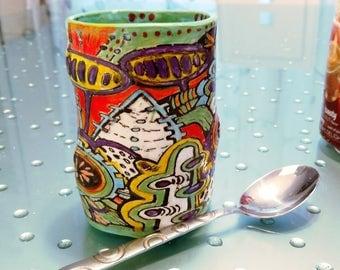 Super Pod experience mug