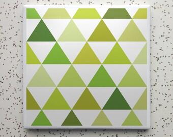 Summer Camp Woodsy Tile Coaster
