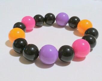 Neon Gumball Bracelet