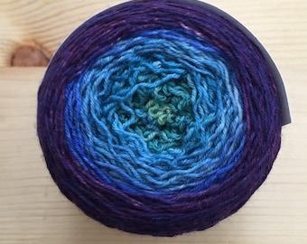 Terra sock, fingering weight sock yarn blank