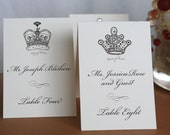 King Crown Place Cards