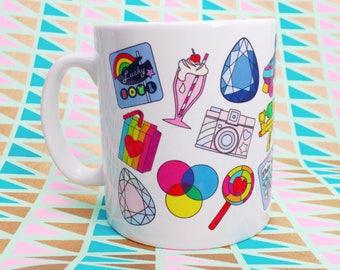 Pin Badge Mug
