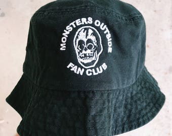 Monsters Outside Fan Club Bucket Hat