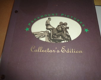 Vintage Paramount Pictures Collectors Edition with Black and White Photos in Original Box