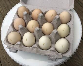 Light Ombre Gender Reveal Eggs