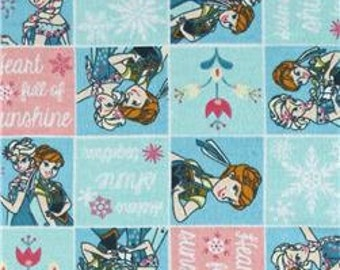 MadieBs Elsa and Anna Frozen Flannel  Cotton Fabric Fitted Crib or Toddler Bed Sheet