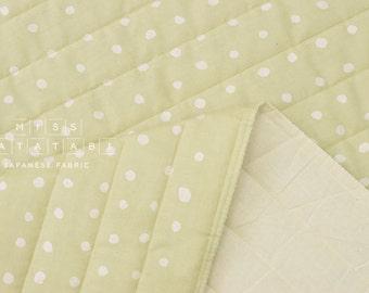 Japanese Fabric Nani Iro Pocho quilted double gauze - muscat soda - 50cm