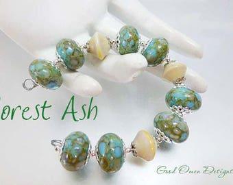 FOREST ASH, a bead set